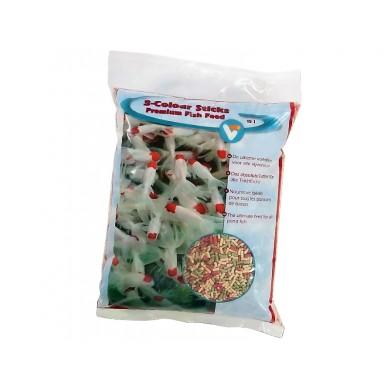 15 litrů 3-color Sticks Premium, krmiva pro koi a okrasné ryby