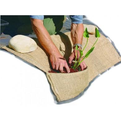 Jutová kapsa pro výsadbu vodních a bahenních rostlin