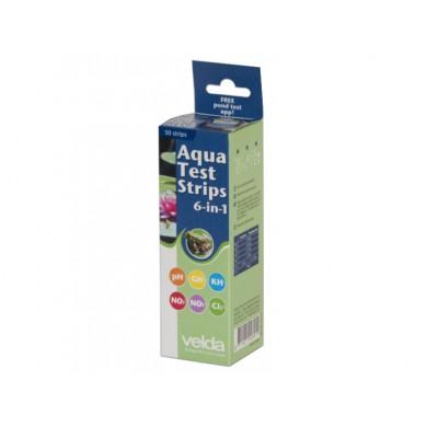 Velda Aqua Test Strips 6 in 1, 50 testů kvality vody