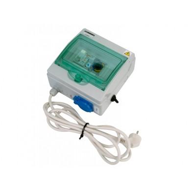Automatické ovládání pro filtraci - F1 s flexokabelem