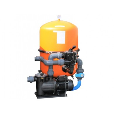 Bazénová písková filtrace BILBAO 400 s čerpadlem Preva