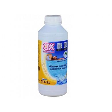 CTX-51 přípravek k odstranění vápenatých usazenin 1l