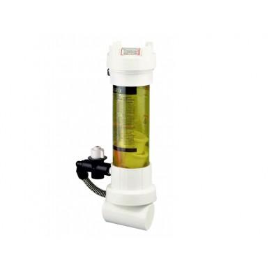 Dávkovač pev. látek do potrubí - průhledný Rainbow 320-C, 2,2kg