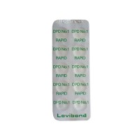 Test tablety DPD č. 1 Cl – 10 ks (volný chlor)