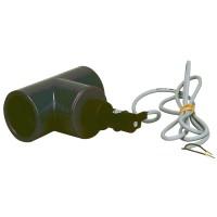 Elektrická průtok. klapka, T-kus 50mm-snímání průtoku vody