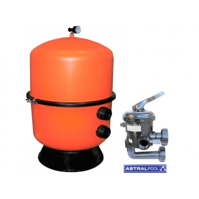 Filtrační nádoba BILBAO 350 s ventilem