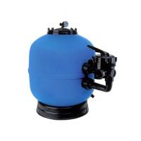 Filtrační nádoba Lisboa 500 mm, průtok 9 m3/h, boční ventil