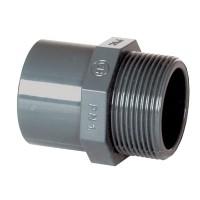 "PVC tvarovka - přechodka 63–50 x 2"" ext."