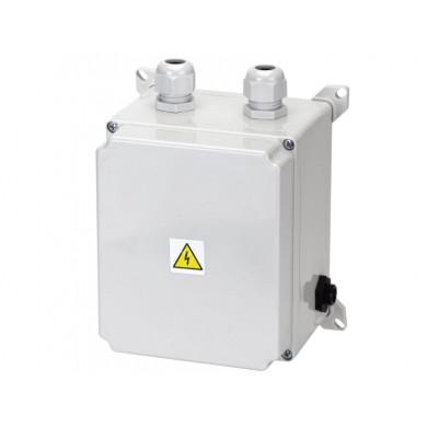 El. ovládání-protiproudu 9-14A, IP65, tlakový spínač; 1,2–2,6kW