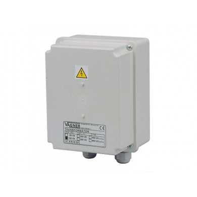 Bezpečnostní transformátor 200 W, 230 V/12 V