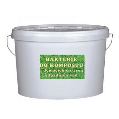 Bakterie Oxygenátor pro ČOV, zahradní jezírka a komposty 1 kg