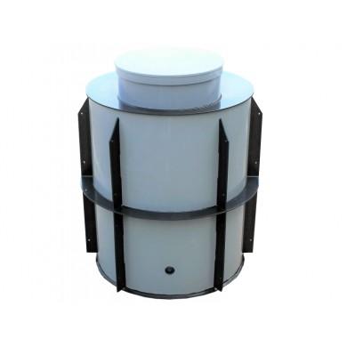 Vodoměrná šachta 1200x1200 mm