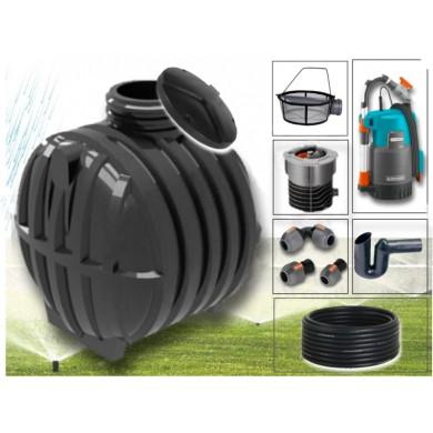 Zahradní sestava na dešťovou vodu nádrž SMART 6000L