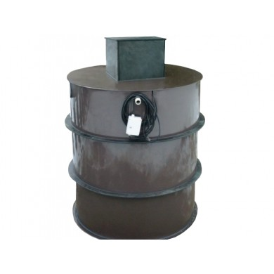 Čerpadlová šachta válec 100x120cm