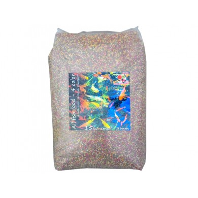 All Fish Food 4 color granule 3 mm, 15 kg