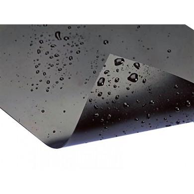 Fólie PVC 1mm - černá, šíře 12m