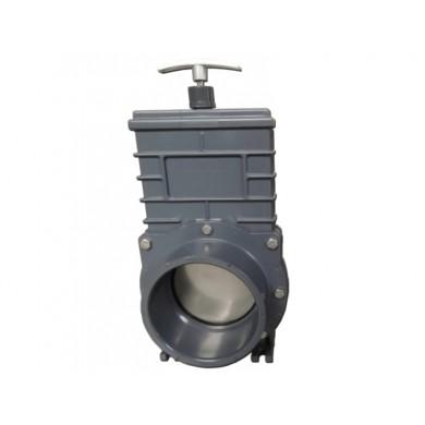Šoupě PVC Valterra - tažný uzávěr DN 110 mm