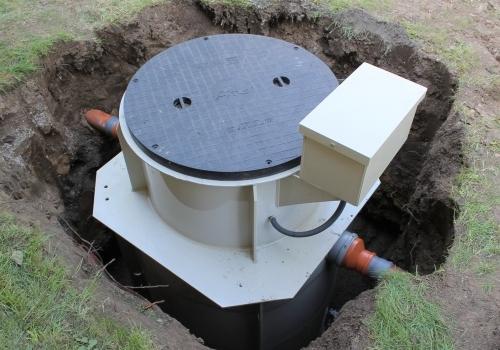 Instalace čističky odpadních vod