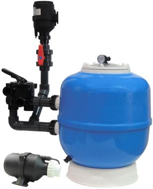 EA Eastern K1 Micro BEAD 30 palců, profesionální tlaková nízkotlaká filtrace pro jezírka 30-250 m3